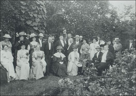Ved faaborg museums indvielse 24 juni 1910